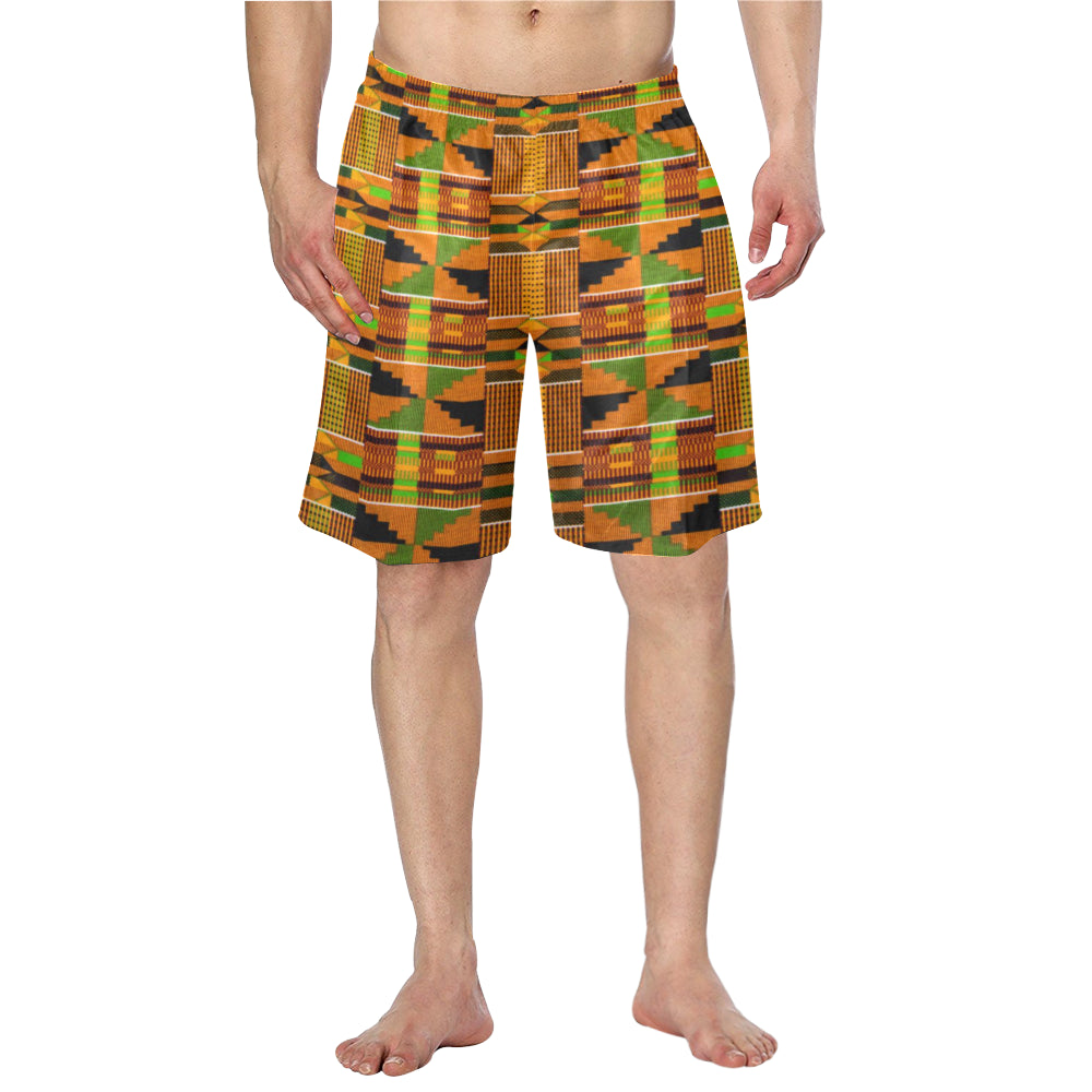 Afroswagg Kente Men's Swim Trunk - AFROSWAGG5