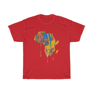 Paint Africa Unisex T-Shirt - AFROSWAGG5
