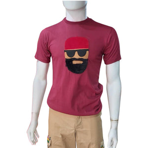 Boss T-shirt Series - Red Cap - AFROSWAGG5