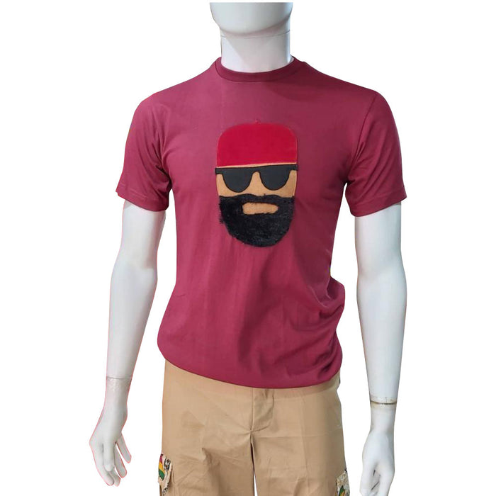 Boss T-shirt Series - Red Cap