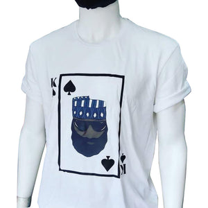Boss T-shirt Series - King of Spades - AFROSWAGG5