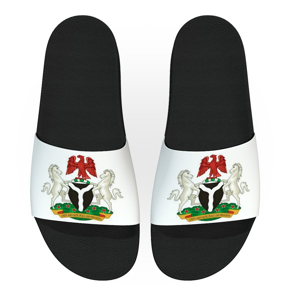 Coat of Arms Women Slides - AFROSWAGG5