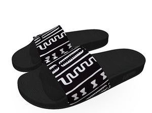Cowry Men Slides - AFROSWAGG5