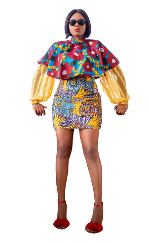 Ajoke Extra - 2 Piece Outfit - AFROSWAGG5