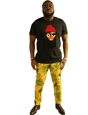 Classic Ankara Pant - AFROSWAGG5
