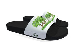 Afroswagg Men Slides (The Palms) - AFROSWAGG5