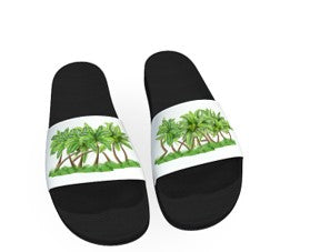 Afroswagg Women Slides (The Palms) - AFROSWAGG5