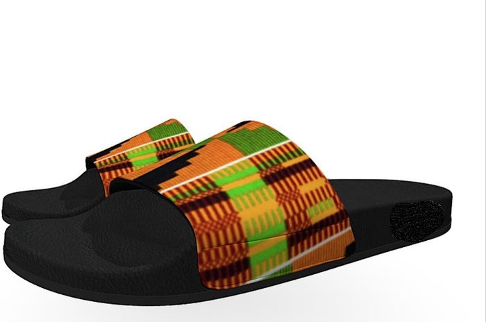 Kente Women Slides
