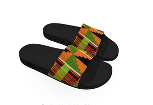 Kente kids Slides - AFROSWAGG5