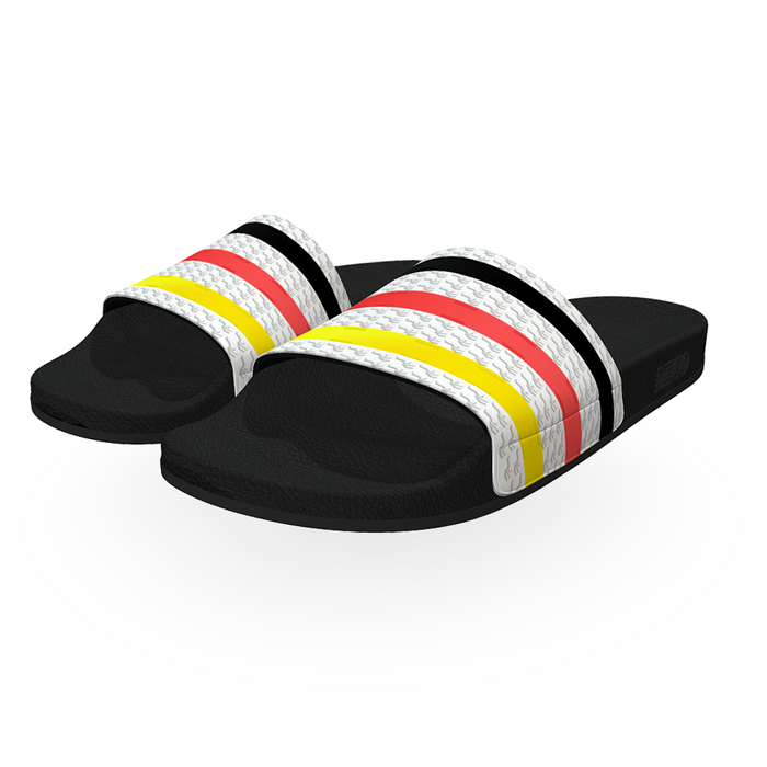 Fancy Stripe Men Slides