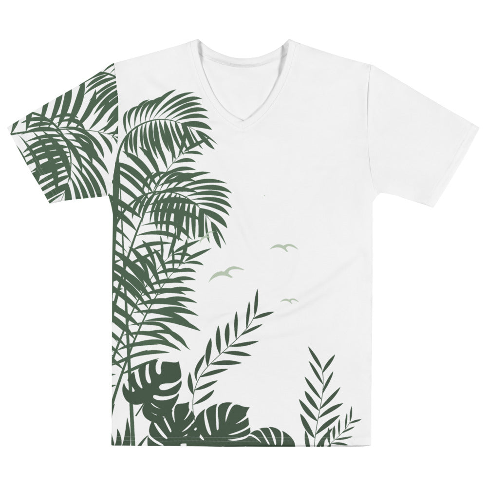 Palm Scene V-Neck T-shirt