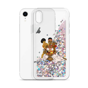 Ala Liquid Glitter IPhone Case - AFROSWAGG5