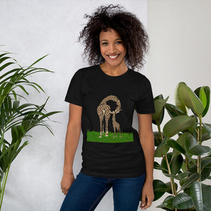 Giraffe ladies T-Shirt