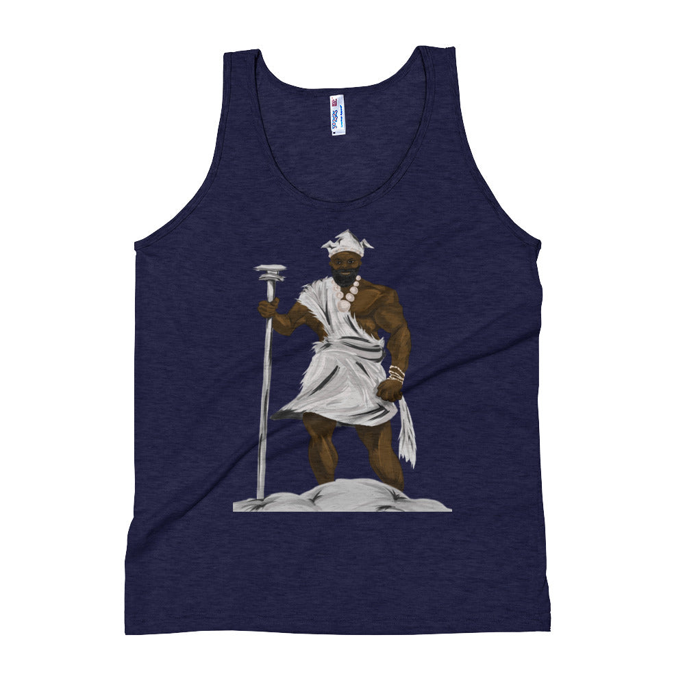 African gods Unisex Tank Top - AFROSWAGG5