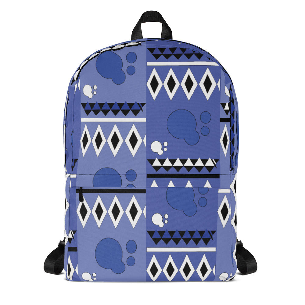 Afro Abstract Backpack - AFROSWAGG5