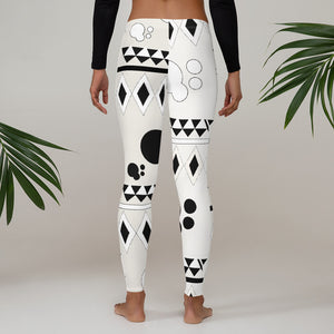 AfroAbstract Leggings