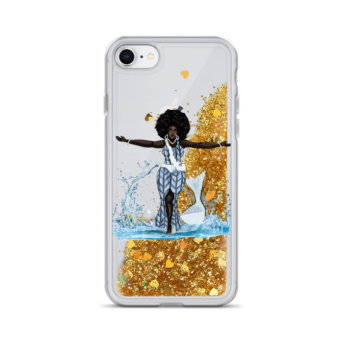 Yemoja Liquid Glitter IPhone Case