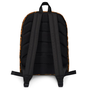 African Mask Backpack - AFROSWAGG5