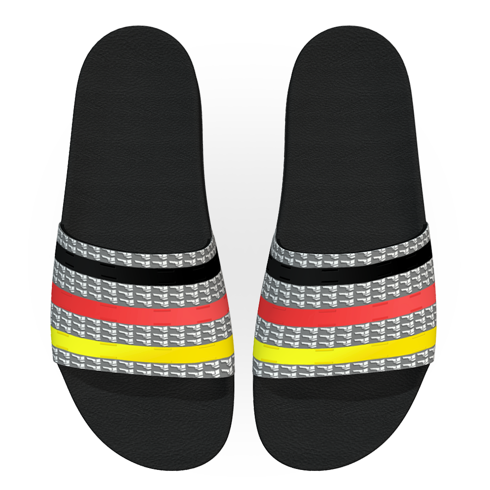 Fancy Stripes Women Slides - AFROSWAGG5