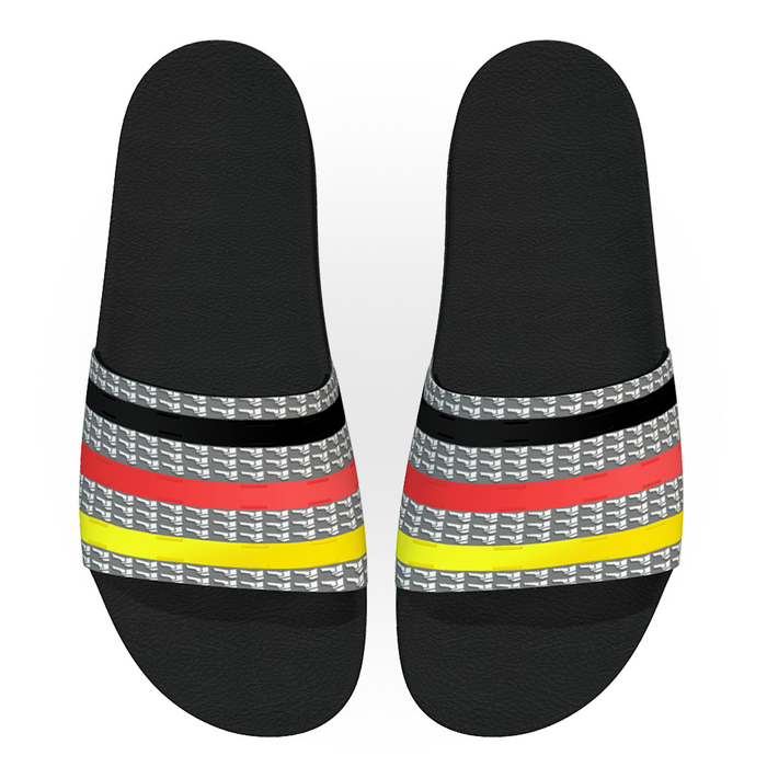 Fancy Stripes Women Slides