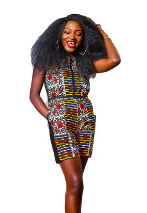 Afro Playsuit - AFROSWAGG5