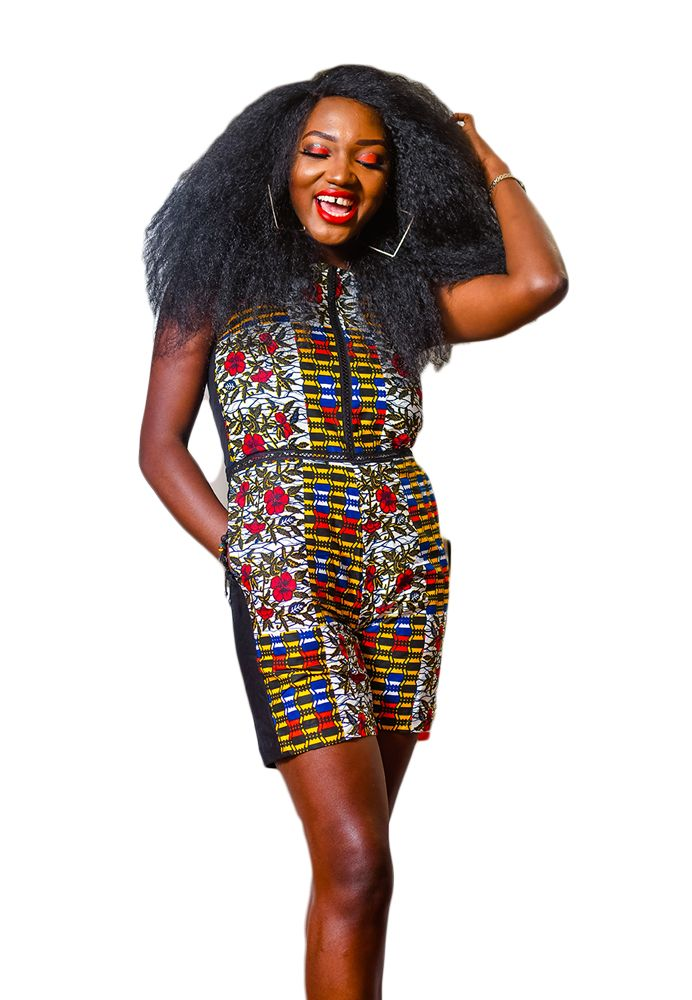 Afro Playsuit