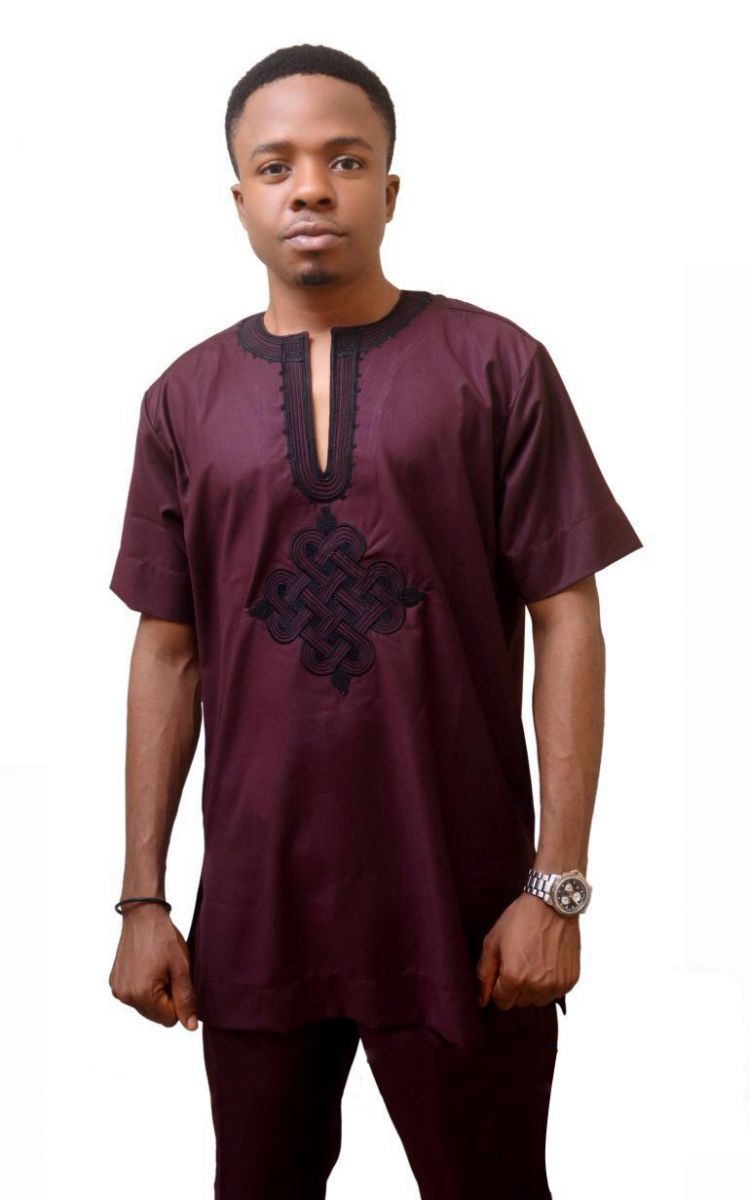 Twist Embroidery Classicman - AFROSWAGG5
