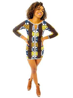 KARO DRESS - AFROSWAGG5