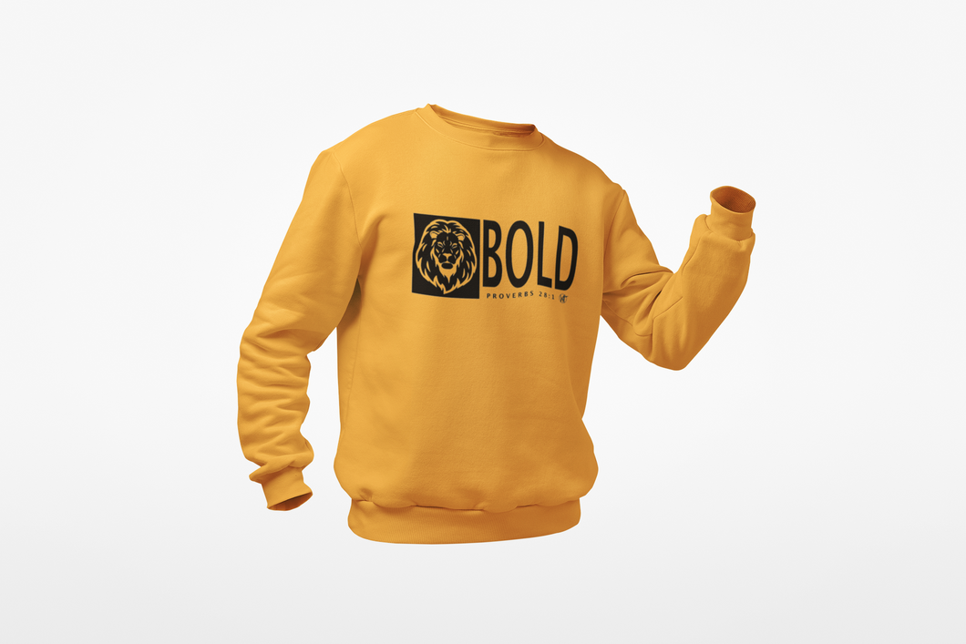Bold as a Lion Unisex Sweatshirt