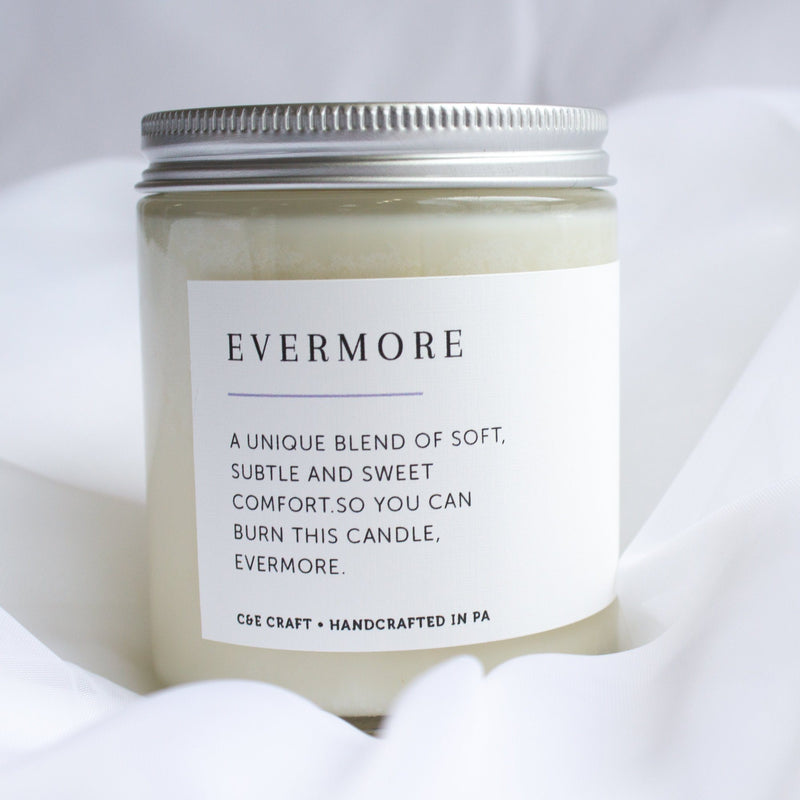 C&E - Evermore Candle - Scented Candle - Soy Wax Candle C & E Craft Co