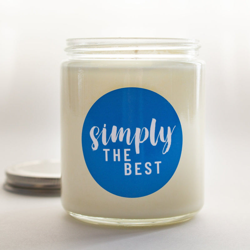 C&E - Simply the Best, Better than All the Rest - Soy Wax Candle Gift Pack - Schitt's Creek Commentary C & E Craft Co