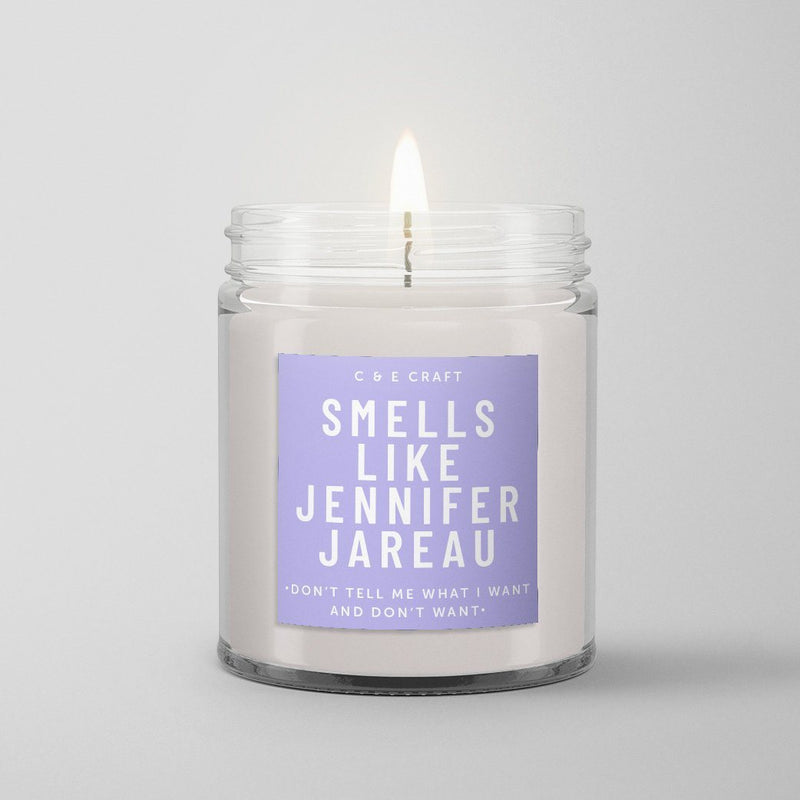 C&E - Smells Like Jennifer Jareau - Soy Wax Candle - Criminal Minds Gift C & E Craft Co