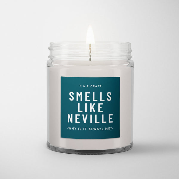 C&E - Smells Like Neville - Soy Wax Candle - Pop Culture Candle - Smells Like Candle C & E Craft Co