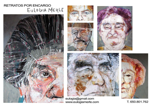 Commissioned portrait/ Retrato por encargo (new work)