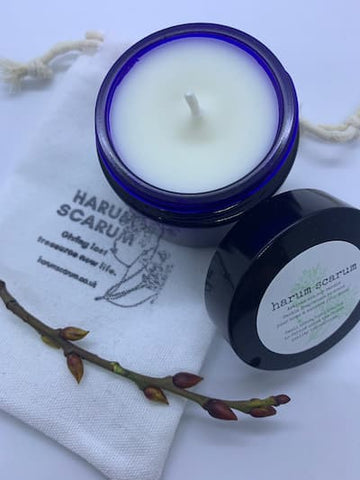 Relaxing Organic Essential oil apothecary candle