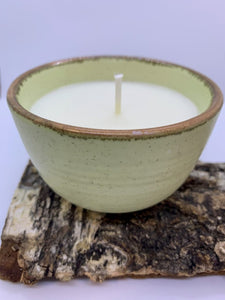 Franciscan Pottery Soy Candle