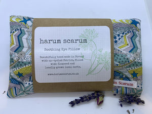 Liberty Print Rosemary & Chamomile Flaxseed Eye Pillow