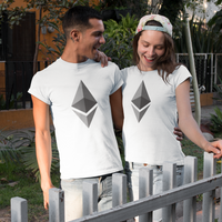Ethereum Women's Cryptocurrency Short-Sleeve T-Shirt