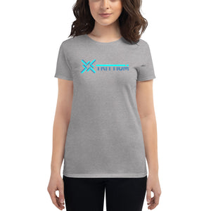 Trittium Dimensional Women's Cryptocurrency Short-Sleeve T-Shirt