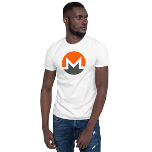 Monero Men's Cryptocurrency Short-Sleeve T-Shirt