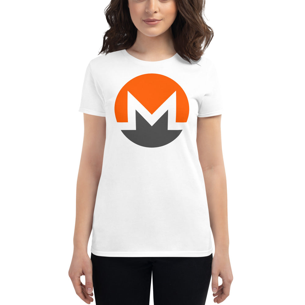 Monero Women's Cryptocurrency Short-Sleeve T-Shirt