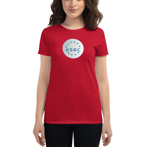 ESBC Coin Women's Cryptocurrency Short-Sleeve T-Shirt