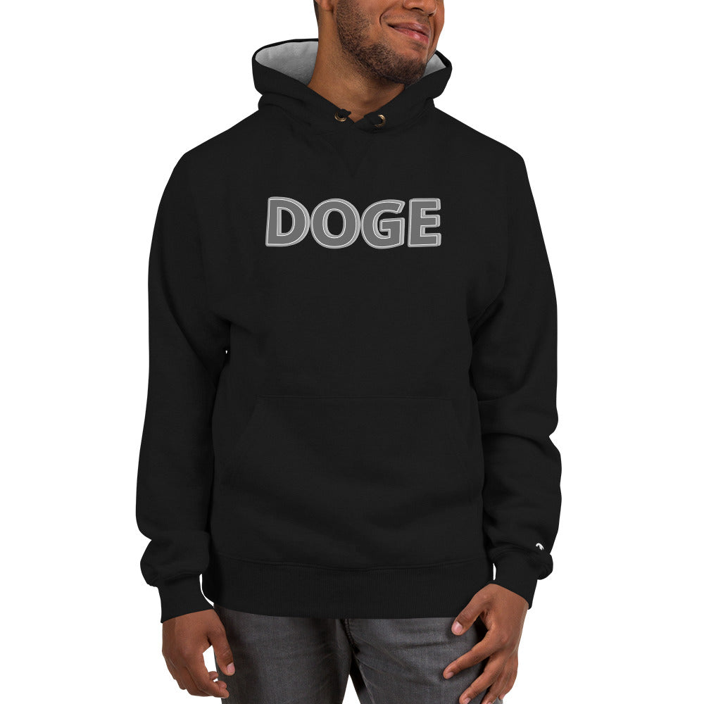 Doge Cryptocurrency Champion Hoodie
