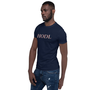 HODL Men's Cryptocurrency Short-Sleeve T-Shirt