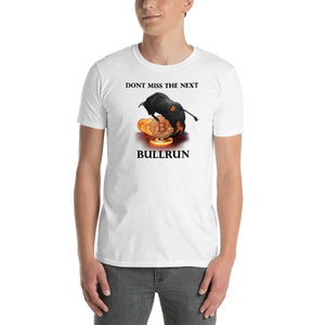 Hot Selling Bitcoin Bullrun Men's Cryptocurrency Short-Sleeve T-Shirt