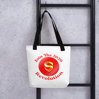 Subsudio Cryptocurrency 15x15 Tote bag