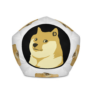 Comfy Doge Coin Bean Bag Chair