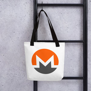 Monero Cryptocurrency Tote bag