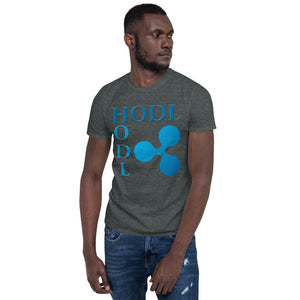HODL Ripple Men's Cryptocurrency Short-Sleeve T-Shirt
