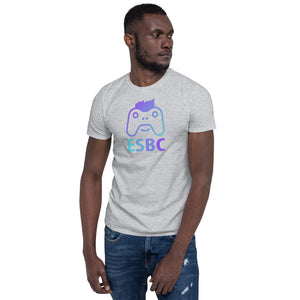ESBC multi-color Logo Mens Short-Sleeve T-Shirt
